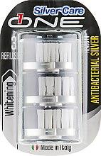 Духи, Парфюмерия, косметика Сменные головки для отбеливающих зубных щеток - Silver Care One Whitening Toothbrush Head Refill