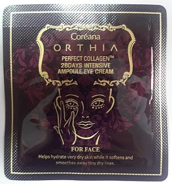 Крем для глаз с коллагеном - Coreana Orthia Perfect Collagen 28 Days Intensive Ampoule Eye Cream (пробник)
