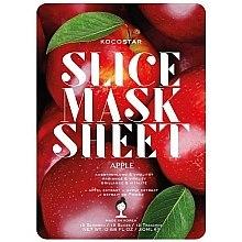 "Духи, Парфюмерия, косметика Маска-слайс для лица ""Яблоко"" - Kocostar Slice Mask Sheet Apple"