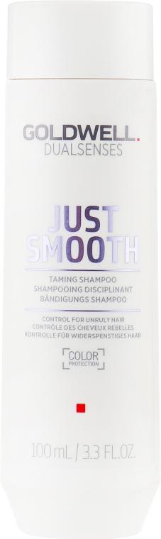 Шампунь для непослушных волос - Goldwell Dualsenses Just Smooth Taming Shampoo