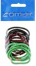 Духи, Парфюмерия, косметика Резинки для волос толстые, коричневые + бордовые + зеленые, 12шт - Comair