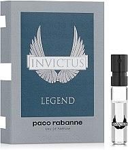 Духи, Парфюмерия, косметика Paco Rabanne Invictus Legend - Парфюмированная вода (пробник)