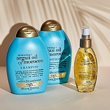 Восстанавливающий шампунь с аргановым маслом Марокко - OGX Argan Oil of Morocco Shampoo — фото N7