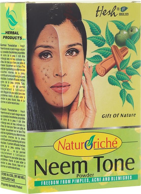Маска для проблемной кожи лица - Hesh Neem Tone Powder