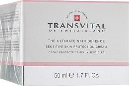 Духи, Парфюмерия, косметика Защитный крем для чувствительной кожи лица - Transvital Sensitive Skin Protection Cream