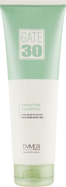 Выравнивающий бессульфатный шампунь для волос - Emmebi Italia Gate 30 Oliva Bio Smoothie Shampoo