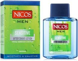 Духи, Парфюмерия, косметика Лосьон после бритья - Nicos Sensitive After Shave Lotion