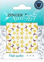 Духи, Парфюмерия, косметика Наклейки для дизайна ногтей, fda-200 - Zinger Nail Art Sticker