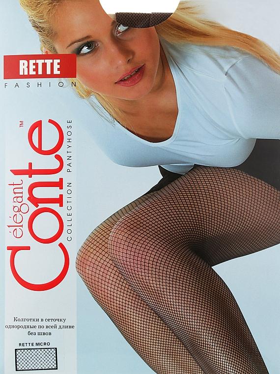 """Колготки """"Rette Micro"""", bronz - Conte"""