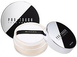 Духи, Парфюмерия, косметика Рассыпчатая пудра для лица - Missha Pro-Touch Face Powder SPF15