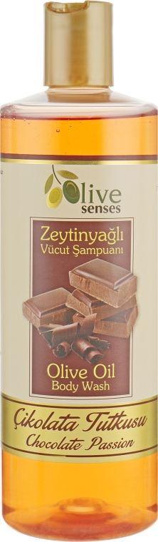 """Гель для душа с оливковым маслом """"Шоколад"""" - Selesta Senses Body Wash"""