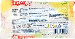 Влажные антибактериальные салфетки для детей с экстрактом алоэ вера, 40шт - Lili — фото N2