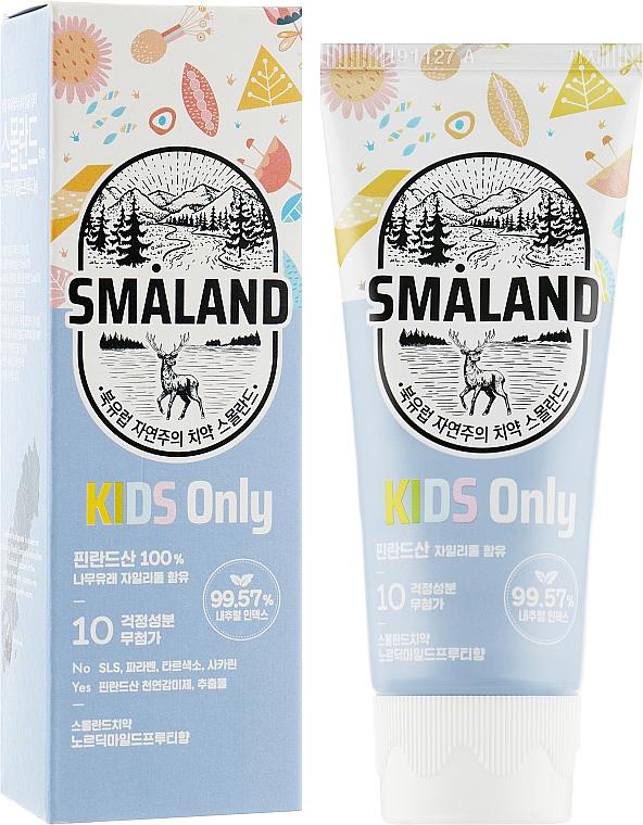 """Детская зубная паста """"Фруктовая"""" - Smaland Mild Fruity Kids"""