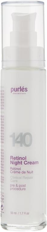 Ретиноловый ночной крем - Purles Clinical Repair Care 140 Retinol Night Cream