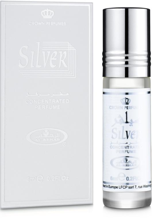 Al Rehab Silver - Масляные духи