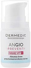 Активный ночной крем против морщин для кожи склонной к покраснениям - Dermedic Angio Preventi Active Anti-Wrinkle Night Cream — фото N2