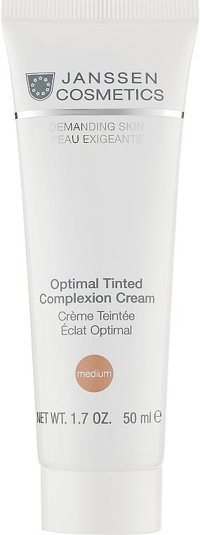 Дневной комплексный тонирующий крем - Janssen Cosmetics Optimal Tinted Complexion Cream Medium SPF 10