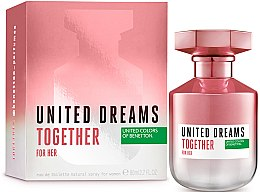 Benetton United Dreams Together For Her - Туалетная вода — фото N2
