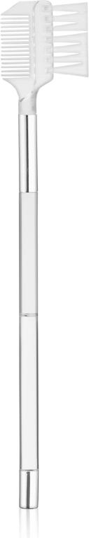 Щеточка для макияжа ресниц, 6036, белая - Top Choice