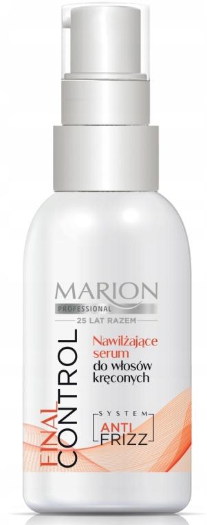 Увлажняющая сыворотка для кудрявых волос - Marion Professional Final Control