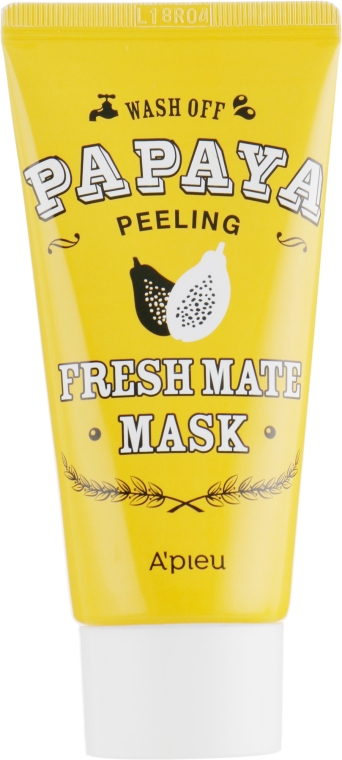Очищающая осветляющая пилинг-маска папайя - A'pieu Fresh Mate Mask