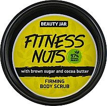 "Духи, Парфюмерия, косметика Скраб для тела укрепляющий ""Fitness Nuts"" - Beauty Jar Firming Body Scrub"