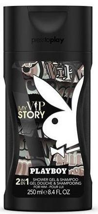 Playboy My VIP Story - Гель для душа