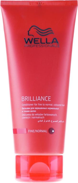 Кондиционер для тонких и нормальных окрашенных волос - Wella Professionals Brilliance Conditioner