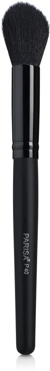 Кисть для растушевки пудры и румян P40 - Parisa Cosmetics