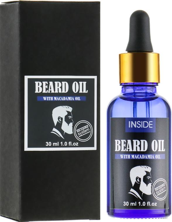Масло для бороды с маслом макадамии - Inside Beard Oil Macadamia