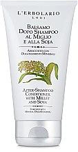 Бальзам на базі проса і сої - l'erbolario Balsamo Dopo Shampoo Al Miglio & Alla Soja — фото N1
