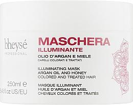 Духи, Парфюмерия, косметика Маска для окрашенных волос с маслом аргана и медом - Renee Blanche Bheyse Maschera Illuminating