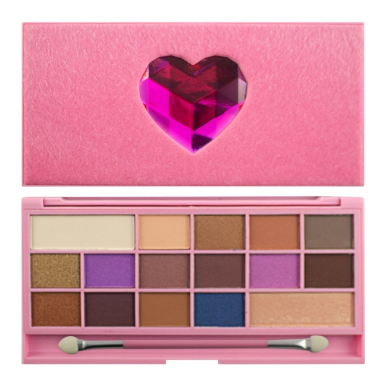 Палетка теней для век - I Heart Revolution Unicorn Love Palette