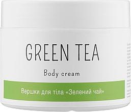 """Духи, Парфюмерия, косметика Сливки для тела """"Зеленый чай"""" - Elenis Body Cream Green Tea"""
