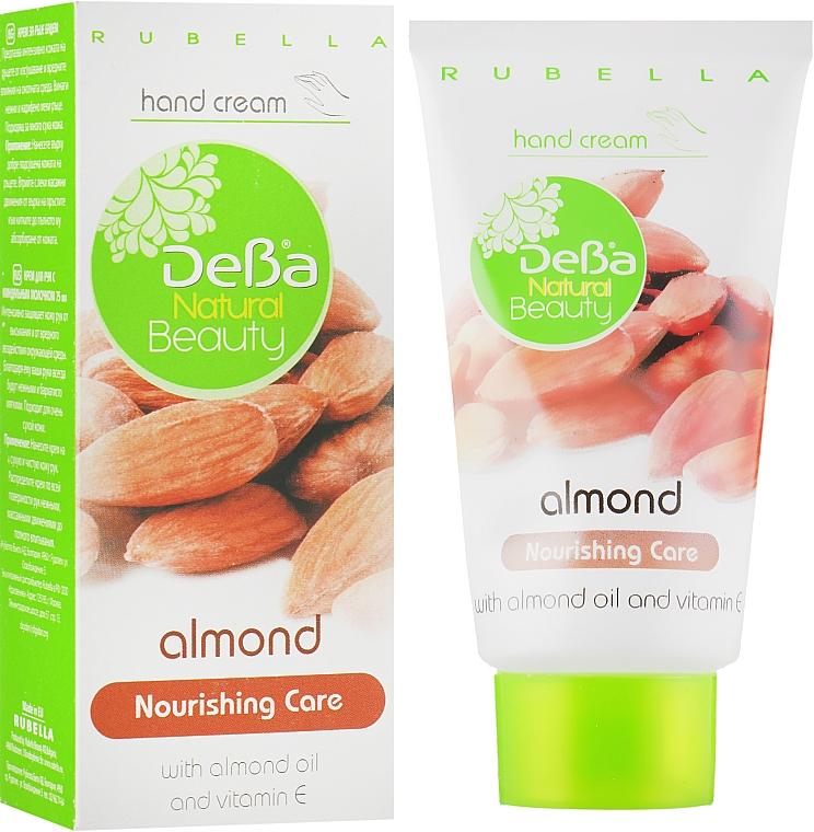 """Питательный крем для рук """"Миндаль"""" - DeBa Natural Beauty"""