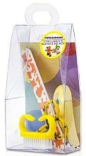 Духи, Парфюмерия, косметика Детский маникюрный набор, 4021-1, 4 предмета, желтый - Tweezerman Baby Manicure Kit