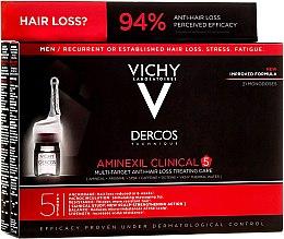 Парфумерія, косметика Засіб проти випадіння волосся комплексної дії для чоловіків - Vichy Dercos Aminexil Clinical 5