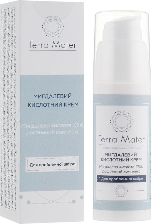 Миндальный кислотный крем для лица - Terra Mater Almond Acid Face Cream