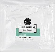 Духи, Парфюмерия, косметика Освежающий крем-гель для ног - Alesso Professionnel Vitalizing Leg Gel (саше)