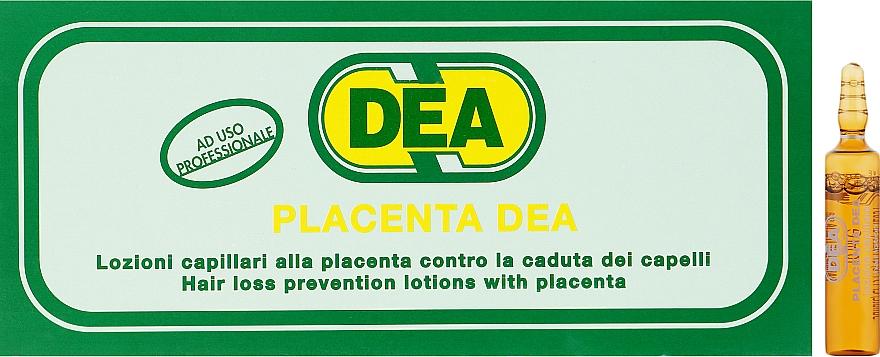 Лосьон-лечение для слабых и ломких волос с плацентой и пантенолом - Black Professional Line Dea Placent Hair Ampoules