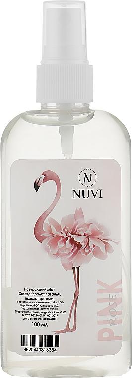 Натуральный увлажняющий мист для лица 6 в 1 - Nuvi Pink Rose