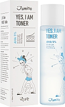 Духи, Парфюмерия, косметика Тонер - HelloSkin Jumiso Yes I Am Toner AHA 5%
