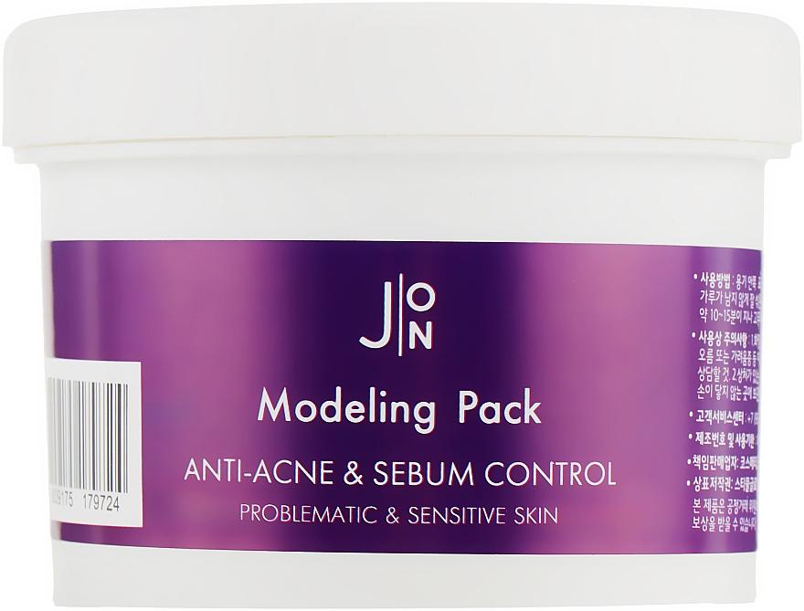 Альгинатная маска для лица против акне - J:ON Modeling Pack Anti-Acne & Sebum Control