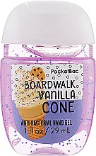 "Духи, Парфюмерия, косметика Антибактериальный гель для рук ""Boardwalk Vanilla Cone"" - Bath and Body Works Anti-Bacterial Hand Gel"