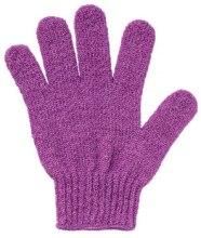 Духи, Парфюмерия, косметика Перчатка-мочалка для душа, фиолетовая - Faberlic