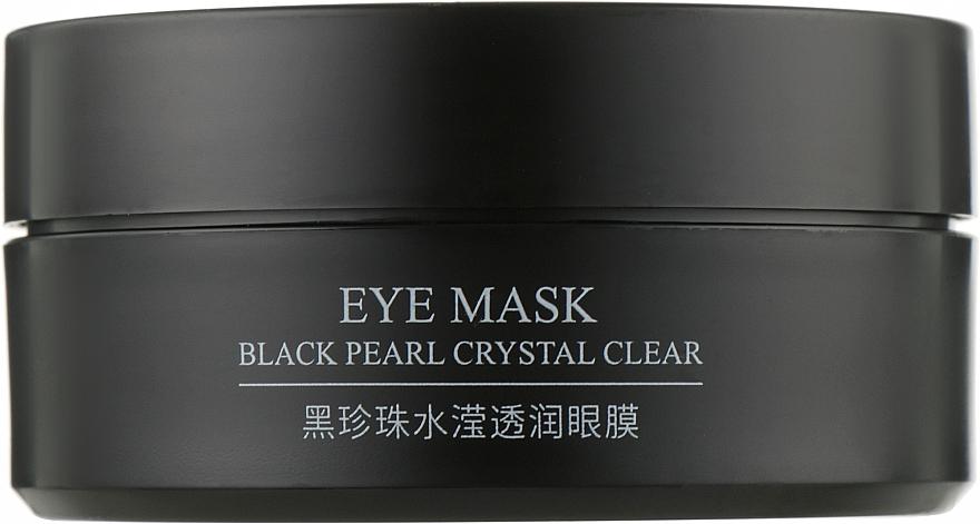 Гидрогелевые патчи под глаза на основе черного жемчуга и золота - Bioaqua Black Pearl Crystal Crear Eye Mask