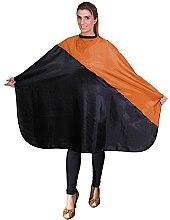 Духи, Парфюмерия, косметика Парикмахерская накидка, 01840/64 черно-оранжевая - Eurostil