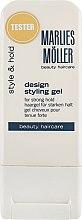 Духи, Парфюмерия, косметика Гель для креативной укладки - Marlies Moller Design Styling Gel (тестер)