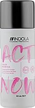 Духи, Парфюмерия, косметика Шампунь для окрашенных волос - Indola Act Now! Color Shampoo