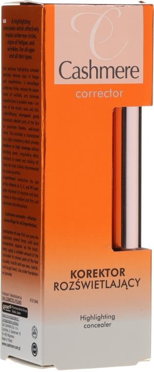 Осветляющий консилер - Dax Cashmere Corrector Highlighting Concealer